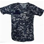Sea Borne Digital - Navy Top